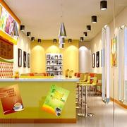 奶茶店设计唯美图