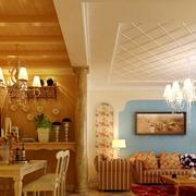 餐厅吊顶装修图片