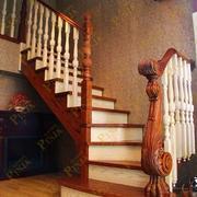 实木楼梯装修图片