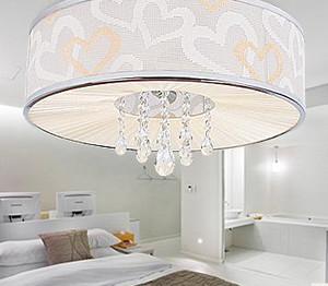 大户型卧室led吸顶灯装修效果图