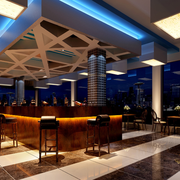 酒吧地板砖设计图片