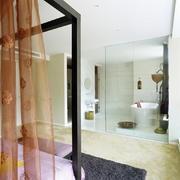 别墅洗手间效果图
