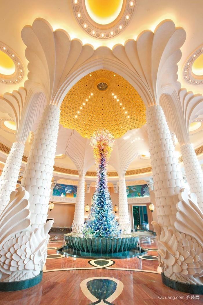 五星级酒店装修设计实景图
