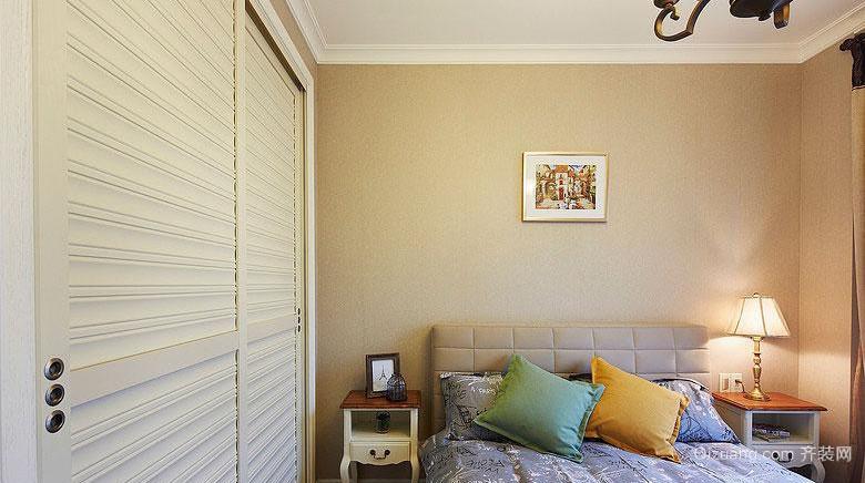 美式三居装修风格效果图