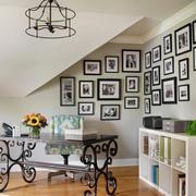 自然风格照片墙装修
