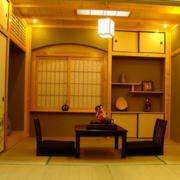 日式风格三室两厅图片