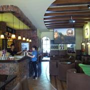 咖啡店设计整体图