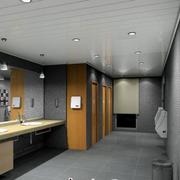 洗手间吊顶效果图