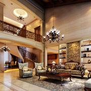时尚风格楼梯效果图片