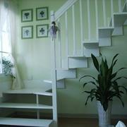 清爽系列楼梯装修图片