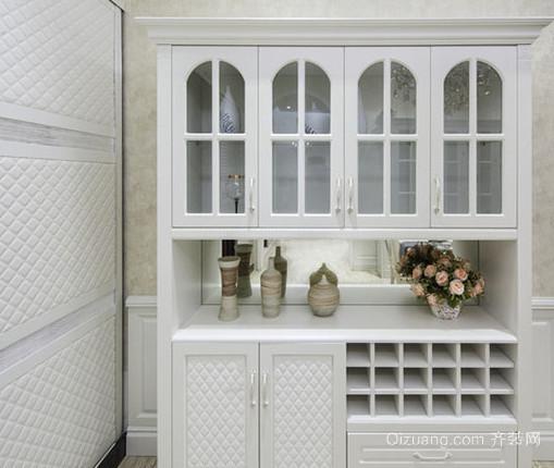 欧式风格复式楼酒柜装修效果图