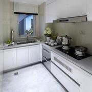 白色调厨房效果图片