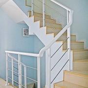 淡色调楼梯效果图片