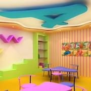 自然风格幼儿园效果图