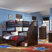 蓝色调卧室装修大全