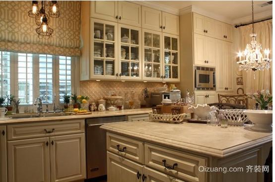 欧式小厨房装修效果图