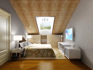 阁楼木地板设计图片