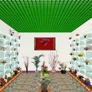 花店地板砖设计图片