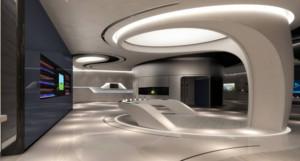 创新科技展厅设计效果图