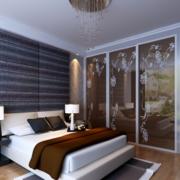 卧室玻璃隔断效果图片
