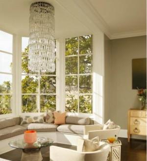 北欧风格别墅飘窗装修设计效果图