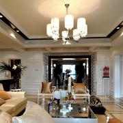 客厅吊顶装修图片