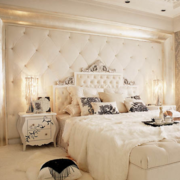 白色调卧室效果图片