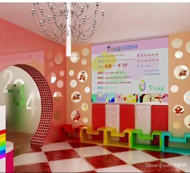 简约风格幼儿园室内设计装修效果图