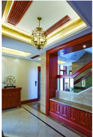 中式门厅玄关装修效果图