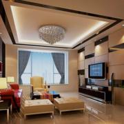 唯美型客厅设计图片