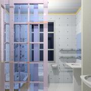 时尚风格洗手间效果图