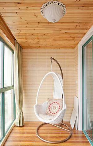 室内阳台吊椅装修效果图