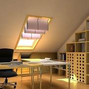 暖色调阁楼设计图片