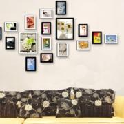 精致型照片墙效果图
