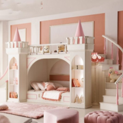 时尚风格儿童房效果图