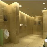 洗手间背景墙效果图