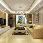 现代风格客厅吊顶设计