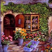花店外观设计图片