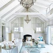 白色调客厅装修大全