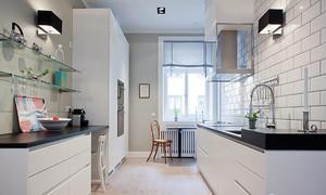 中小户厨房装修效果图