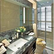 清新风格浴室装修图片