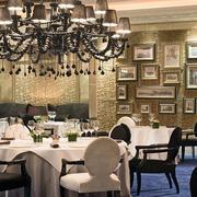 欧式风格餐厅装修大全