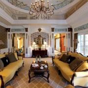 时尚风格客厅设计图片