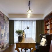 别墅书房装修图片