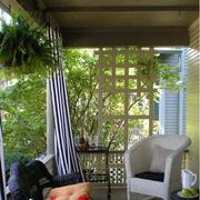 清新风格入户花园图片