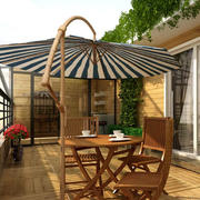 阳台太阳伞装修图片