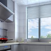 清新型厨房装修图片