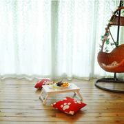 阳台木地板装修图片