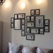 创意照片墙效果图