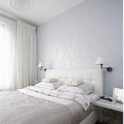 白色调卧室壁纸图片
